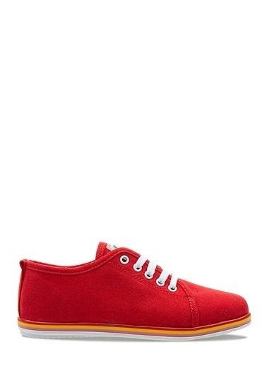 Benetton Bn30225 Kadın Spor Ayakkabı Kırmızı